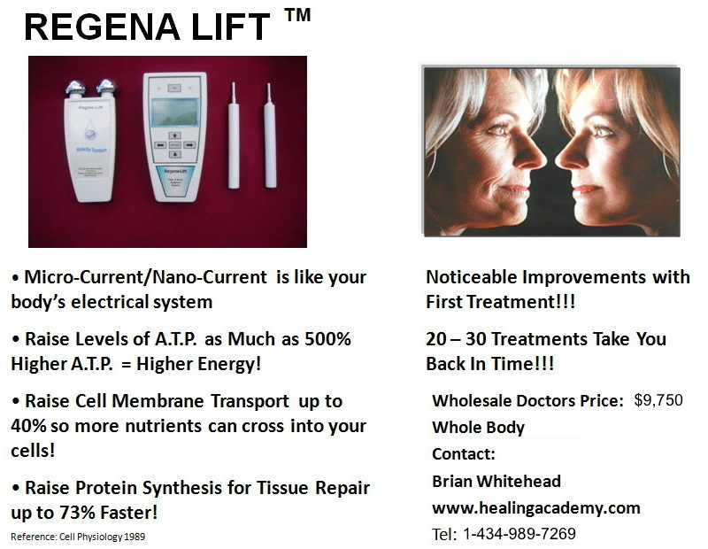 Regena Lift Face And Body Sculpture Microcurrent System